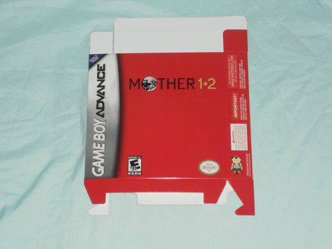 Mother 1 and 2 for GameBoy Advance GBA Box Only