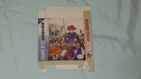 Fire Emblem Sword of Seals for GameBoy Advance GBA Box Only