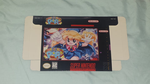 Magical Pop'n for Super Nintendo SNES Box Only