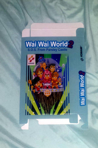 Wai Wai World 2 SOS From Parsley Castle for Nintendo NES Box Only