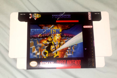 The Firemen for Super Nintendo SNES Box Only