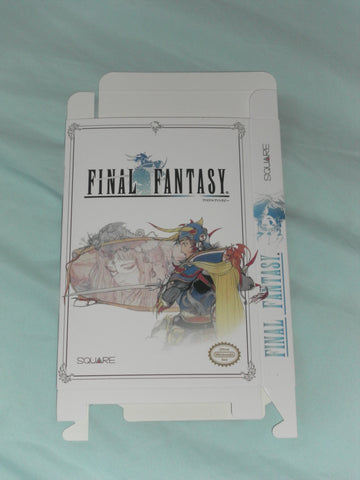 Final Fantasy Alternate Version for Nintendo NES Box Only