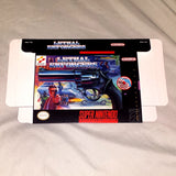 Lethal Enforcers for Super Nintendo SNES Box Only