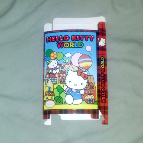 Hello Kitty World for Nintendo NES Box Only