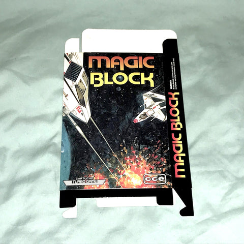 Magic Block for Nintendo NES Box Only