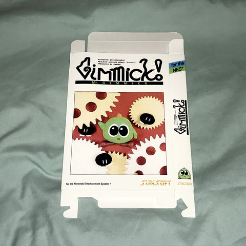 Mr. Gimmick White Version for Nintendo NES Box Only
