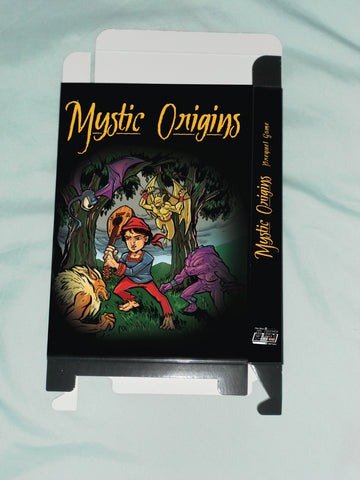 Mystic Origins (From the New 8-Bit Heroes Movie) for Nintendo NES Box Only