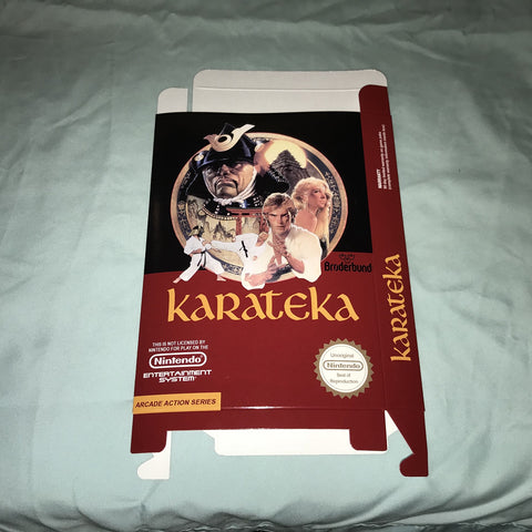 Karateka for Nintendo NES Box Only