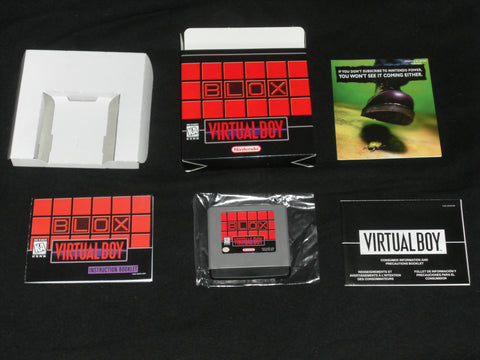 Blox for Virtual Boy Complete in Box
