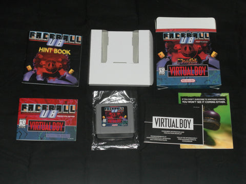 Faceball Proto for Virtual Boy Complete in Box