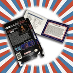 Fake News Covfefe Box and Manual Combo for Nintendo NES