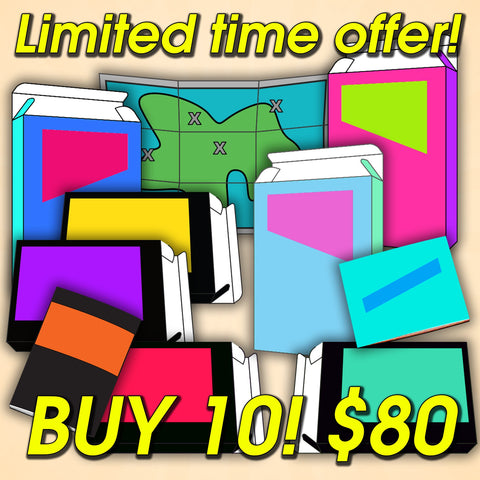 Buy 10 (Box, Manual, or Map) Limited Time!