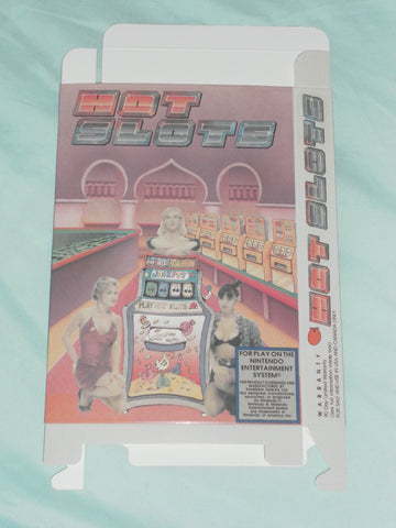 Hot Slots for Nintendo NES Box Only