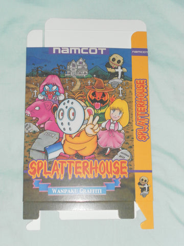 Splatterhouse for Nintendo NES Box Only