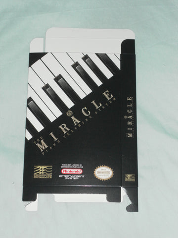 Miracle Piano for Nintendo NES Box Only