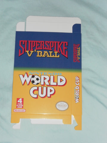 Super Spike V'ball World Cup for Nintendo NES Box Only