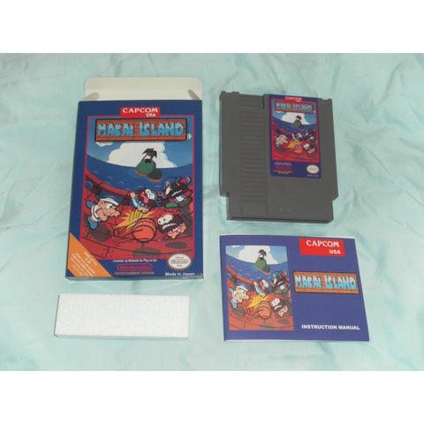 Makai Island for Nintendo NES CIB Complete in Box