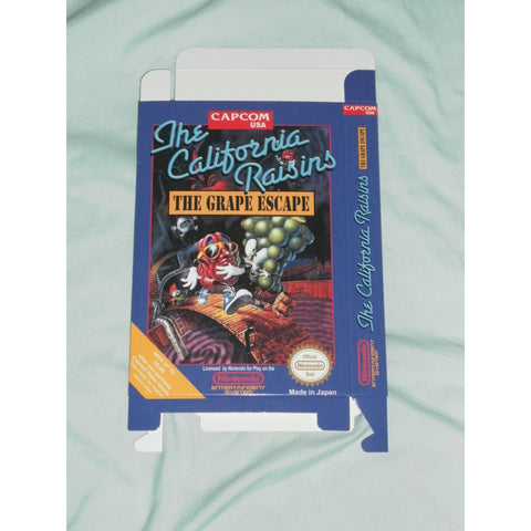 California Raisins The Grape Escape for Nintendo NES Box Only