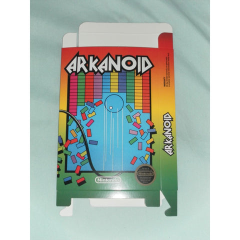 Arkanoid for Nintendo NES Box Only