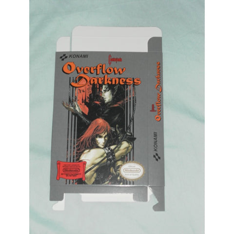 Castlevania - Overflow Darkness Nintendo NES Box Only