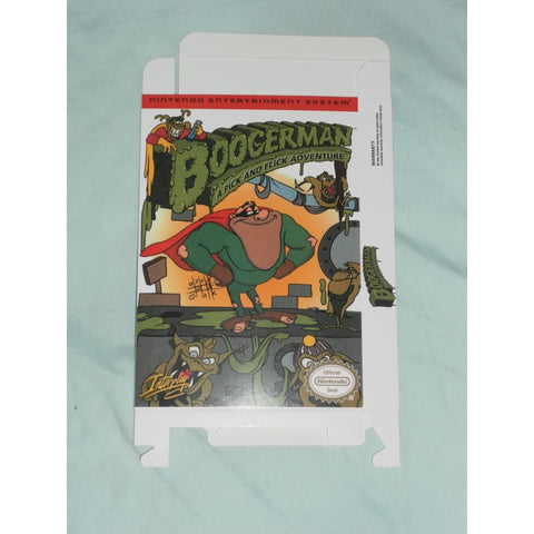 Boogerman for Nintendo NES Box Only