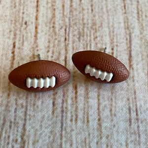 Football Earrings 🏈