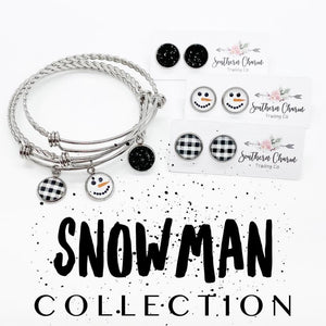 Snowman Collection Bracelet {Preorder}