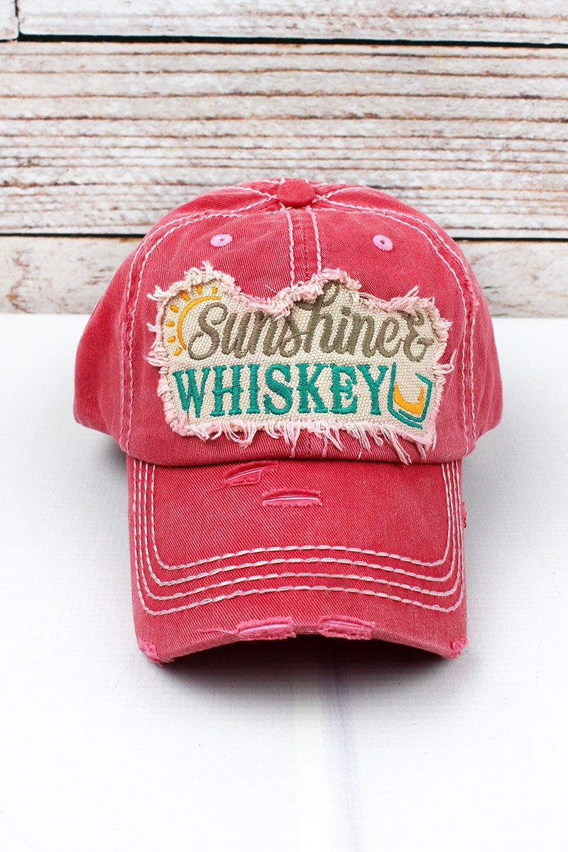 Sunshine & Whiskey Baseball Hat