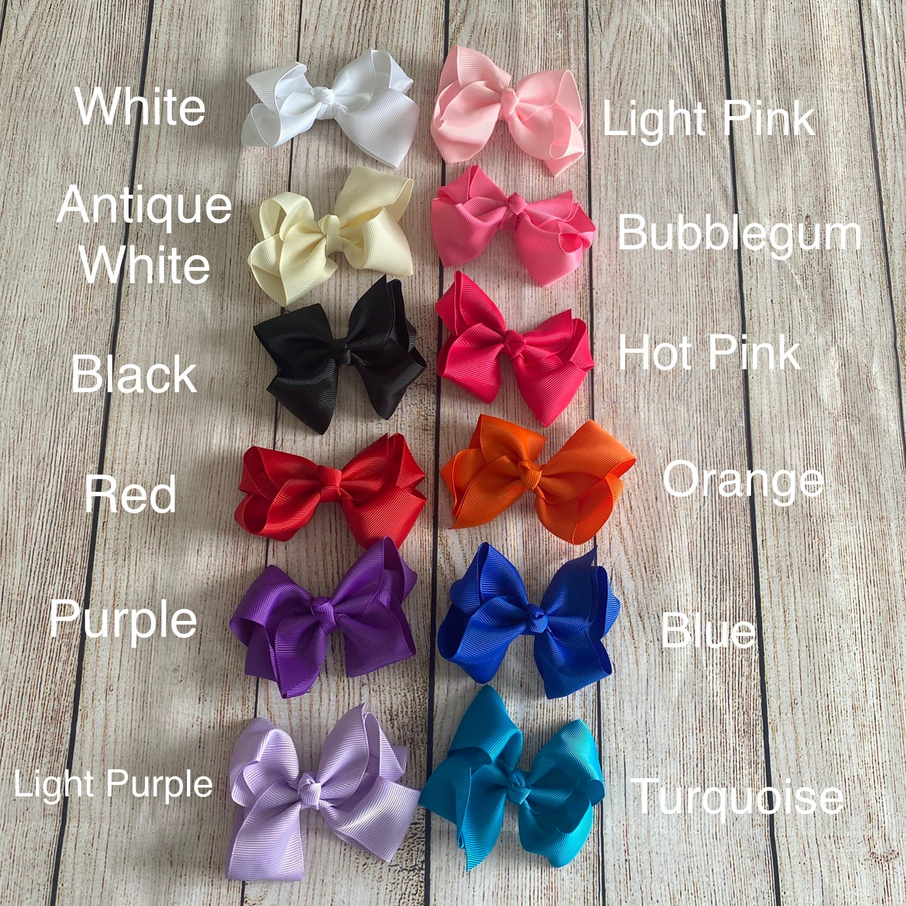 "3"" Grosgrain Hair Bow"