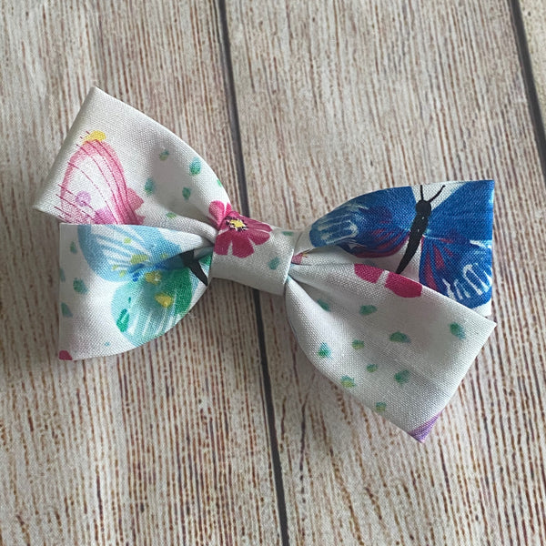 Double Loop Fabric Butterfly Bow