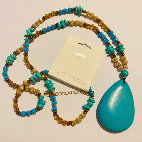 Western Turquoise Necklace