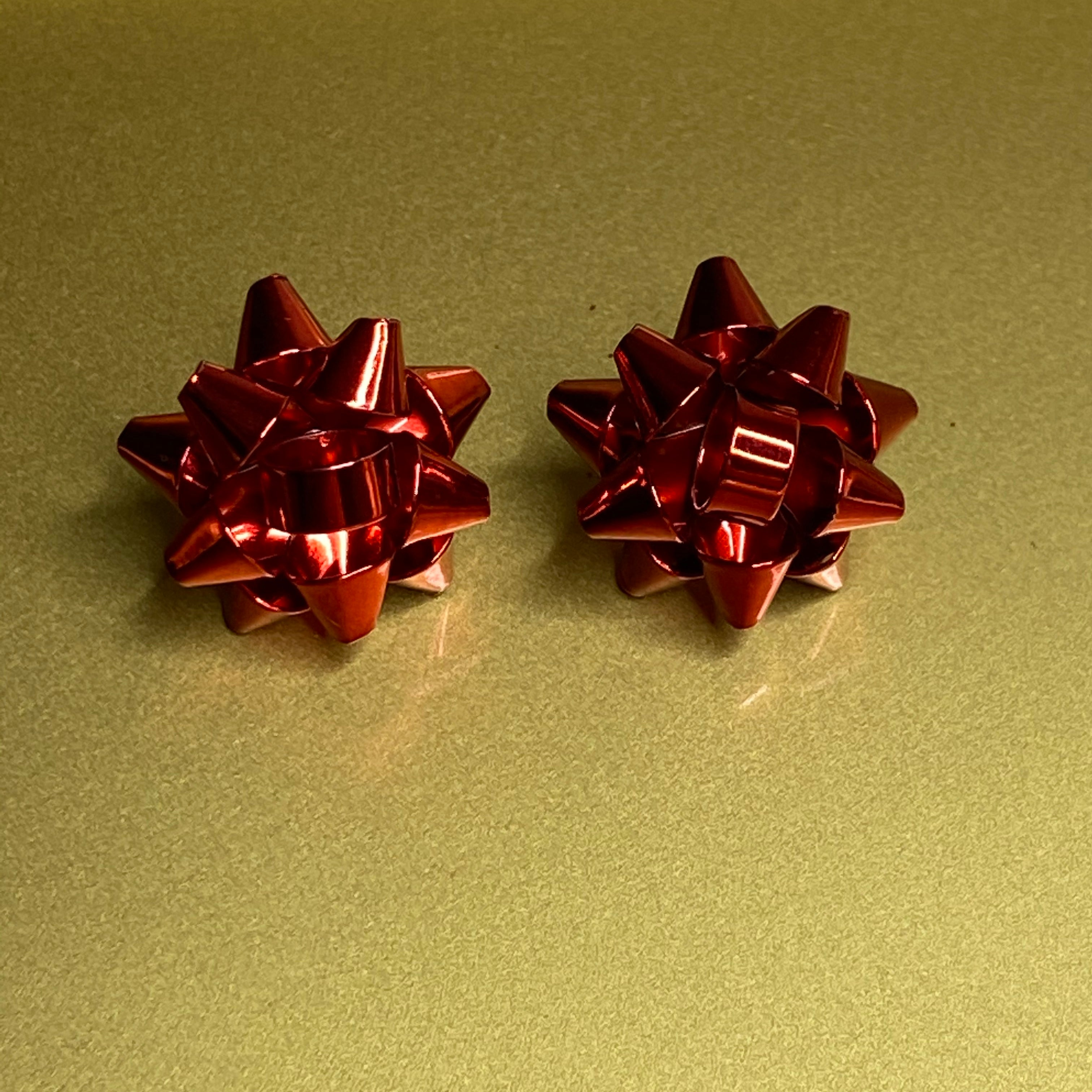 Holiday Bow Earrings