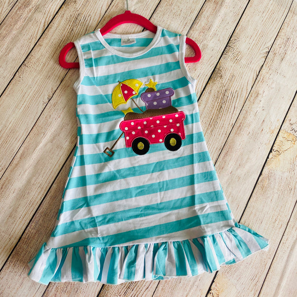 Girls Summer Tank Dress