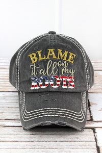 Blame It All On My Roots Ladies Hat
