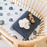 Clouds • Fitted Bassinet Sheet / Change Pad Cover
