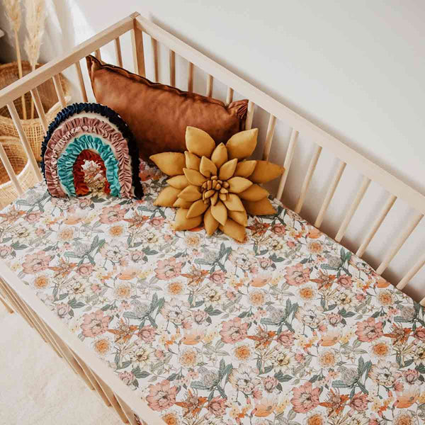 Boho Princess • Fitted Cot Sheet
