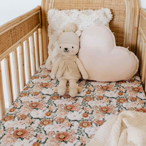 Florence • Fitted Cot Sheet