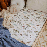 Safari • Fitted Cot Sheet