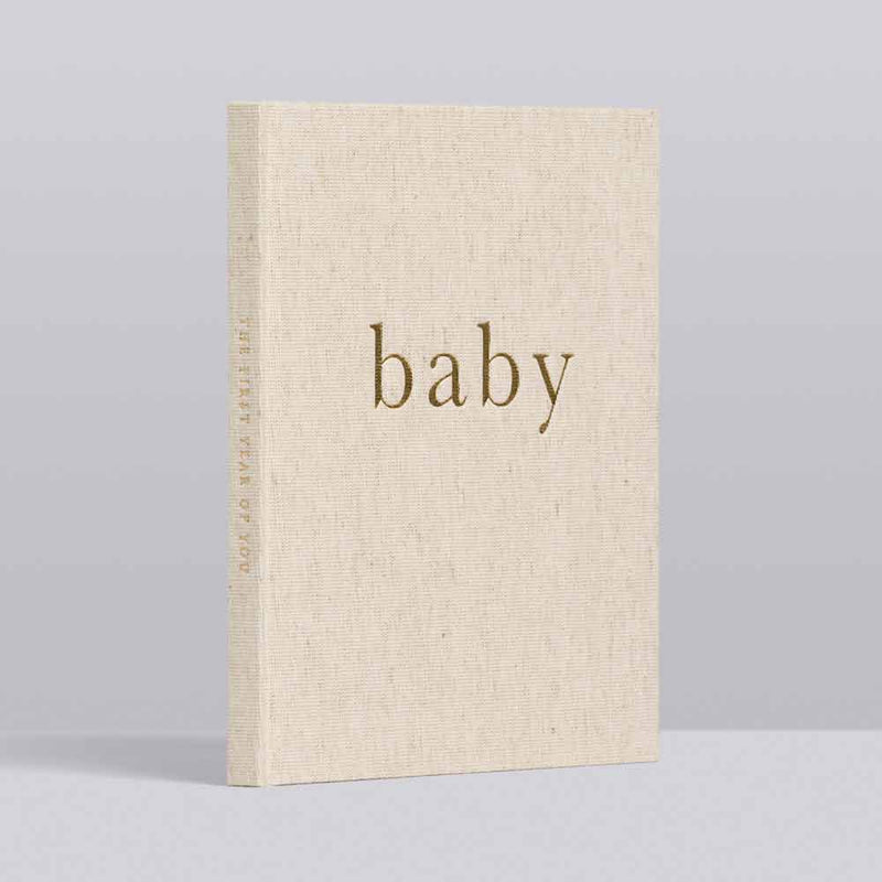 Baby. First Year Of You • Keepsake Journal