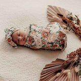 Florence • Swaddle Sack & Topknot Set