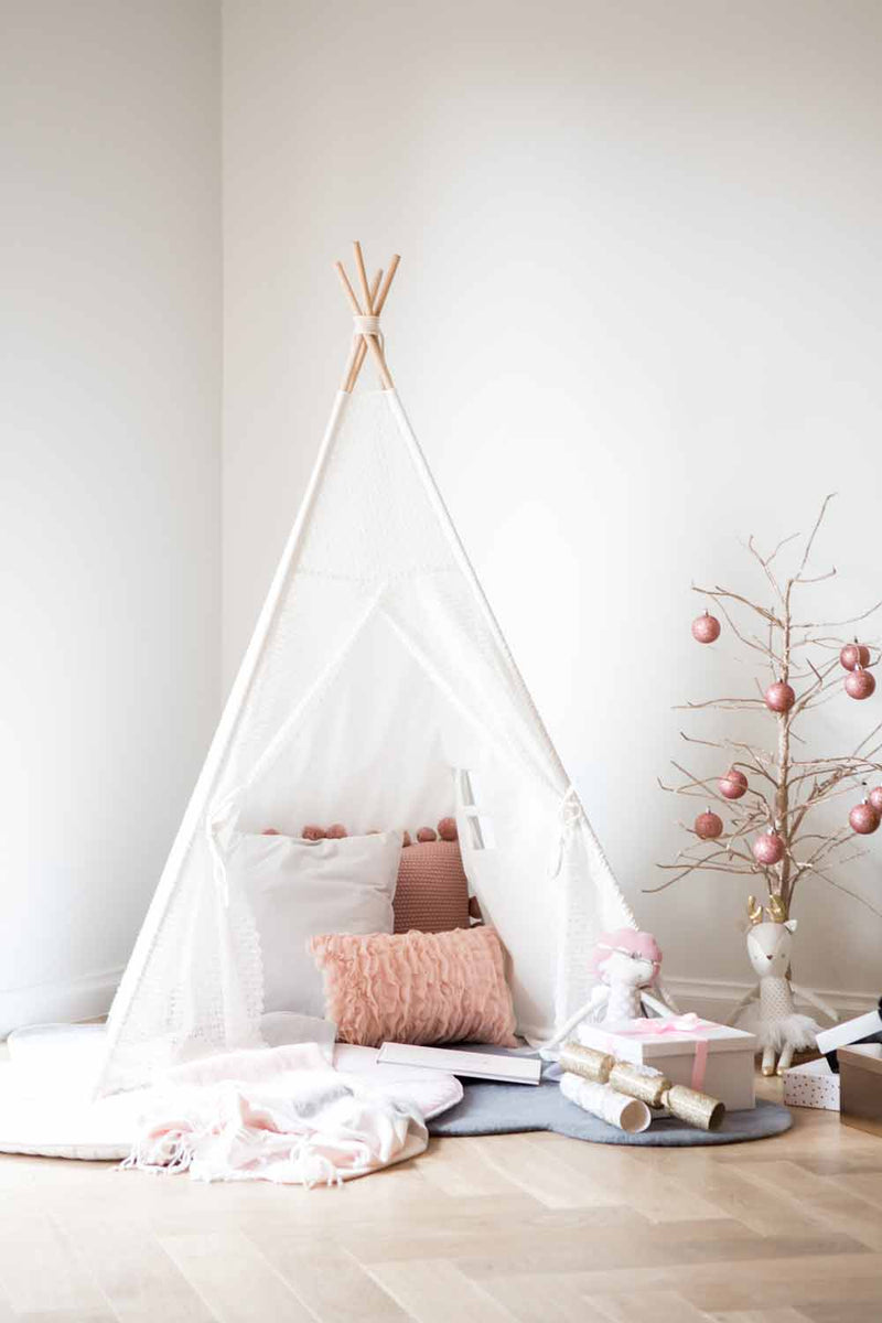 Kids Teepee Tent • Lace