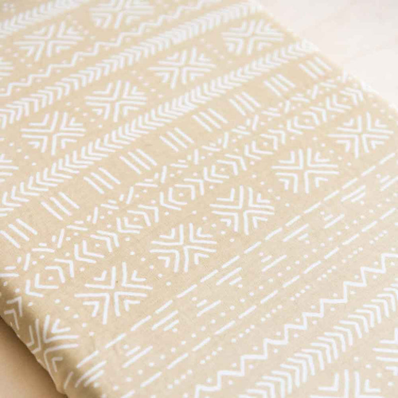 Sand • Fitted Cot Sheet