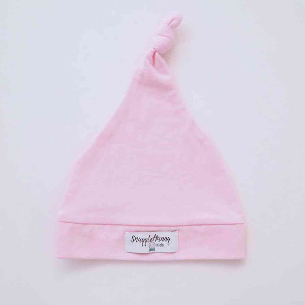 Knotted Beanie • Pink
