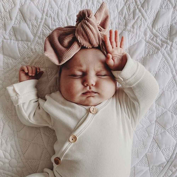 Maeve Cord Topknot