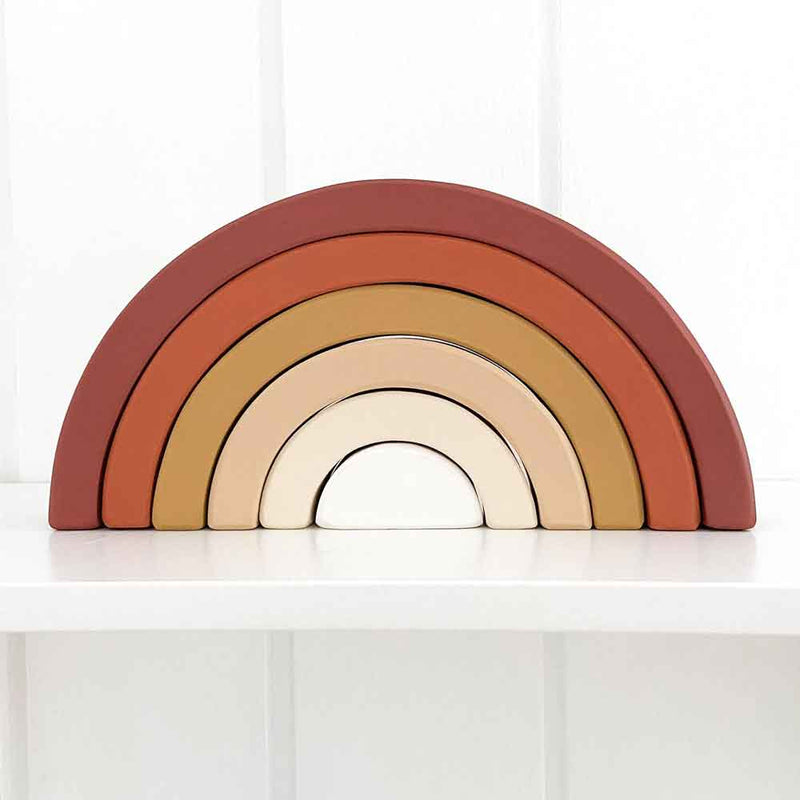 Wooden Rainbow ∙ Earthy Tones