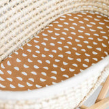 Pebble • Fitted Moses Basket Sheet