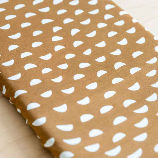 Pebble • Fitted Bassinet Sheet / Change Pad Cover