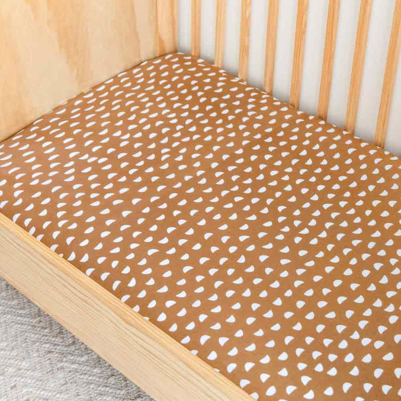 Pebble • Fitted Cot Sheet