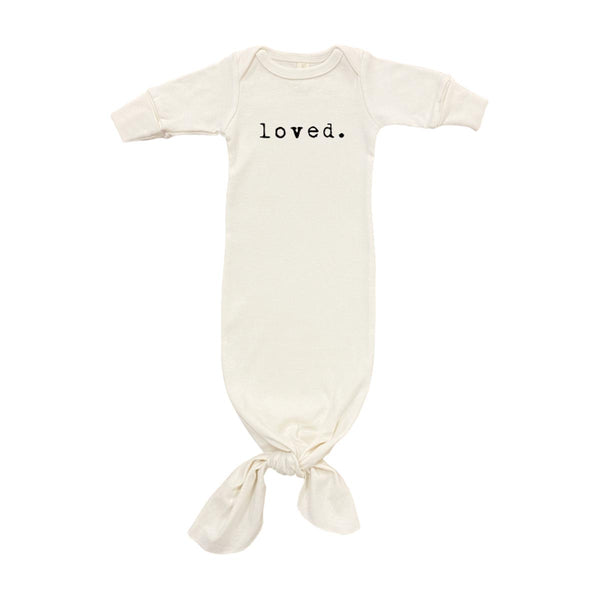 Loved Organic Infant Gown