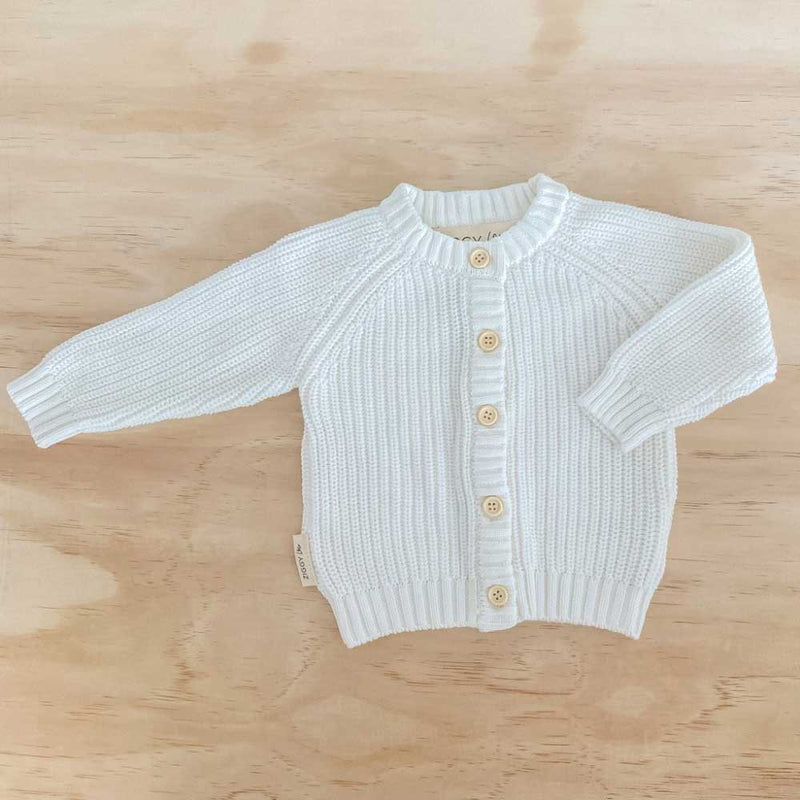 Knit Cardigan • Milk